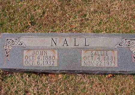 NALL, JOHN - Dallas County, Arkansas | JOHN NALL - Arkansas Gravestone Photos