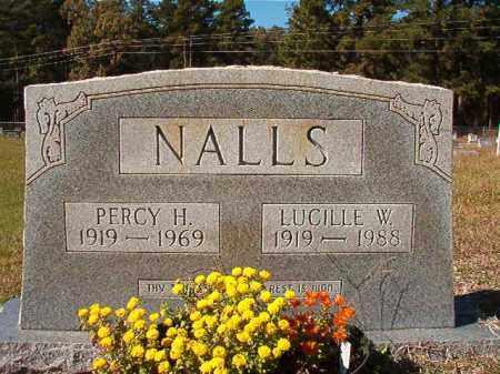 NALLS, LUCILLE W - Dallas County, Arkansas | LUCILLE W NALLS - Arkansas Gravestone Photos