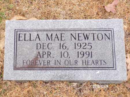 NEWTON, ELLA MAE - Dallas County, Arkansas | ELLA MAE NEWTON - Arkansas Gravestone Photos