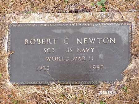 NEWTON (VETERAN WWII), ROBERT C - Dallas County, Arkansas | ROBERT C NEWTON (VETERAN WWII) - Arkansas Gravestone Photos