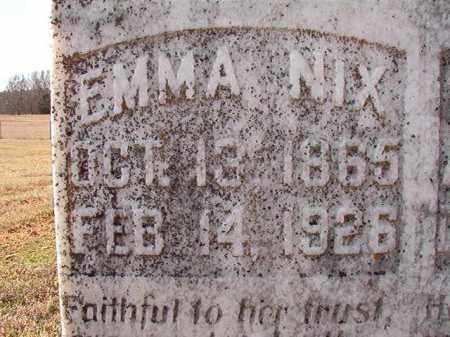 NIX, EMMA - Dallas County, Arkansas   EMMA NIX - Arkansas Gravestone Photos