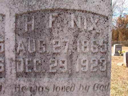 NIX, H F - Dallas County, Arkansas   H F NIX - Arkansas Gravestone Photos
