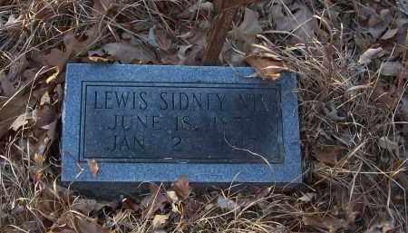 NIX, LEWIS SIDNEY - Dallas County, Arkansas | LEWIS SIDNEY NIX - Arkansas Gravestone Photos