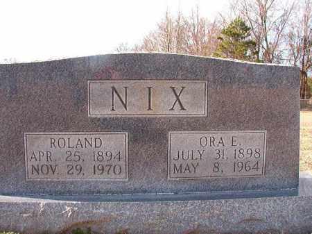 NIX, ROLAND - Dallas County, Arkansas | ROLAND NIX - Arkansas Gravestone Photos