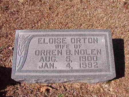 NOLEN, ELOISE - Dallas County, Arkansas   ELOISE NOLEN - Arkansas Gravestone Photos