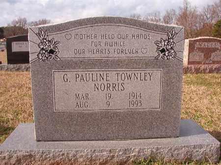 NORRIS, G PAULINE - Dallas County, Arkansas | G PAULINE NORRIS - Arkansas Gravestone Photos