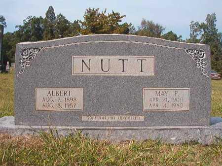 NUTT, MAY P - Dallas County, Arkansas | MAY P NUTT - Arkansas Gravestone Photos