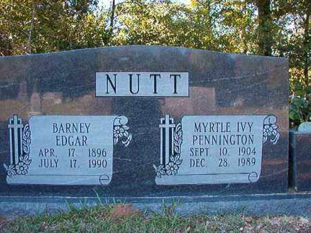 NUTT, MYRTLE IVY - Dallas County, Arkansas | MYRTLE IVY NUTT - Arkansas Gravestone Photos