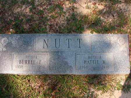 NUTT, BURREL E - Dallas County, Arkansas | BURREL E NUTT - Arkansas Gravestone Photos