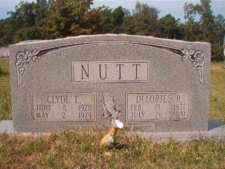 NUTT, DELORIES R - Dallas County, Arkansas | DELORIES R NUTT - Arkansas Gravestone Photos
