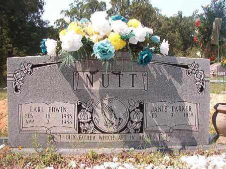 NUTT, EARL EDWIN - Dallas County, Arkansas   EARL EDWIN NUTT - Arkansas Gravestone Photos