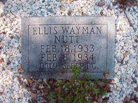 NUTT, ELLIS WAYMAN - Dallas County, Arkansas | ELLIS WAYMAN NUTT - Arkansas Gravestone Photos