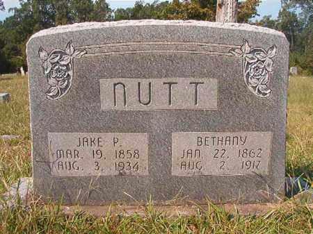 NUTT, BETHANY - Dallas County, Arkansas   BETHANY NUTT - Arkansas Gravestone Photos