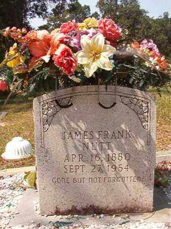 NUTT, JAMES FRANK - Dallas County, Arkansas | JAMES FRANK NUTT - Arkansas Gravestone Photos