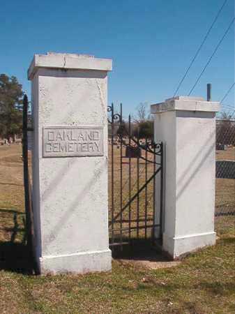 *OAKLAND, CEMETERY - Dallas County, Arkansas | CEMETERY *OAKLAND - Arkansas Gravestone Photos