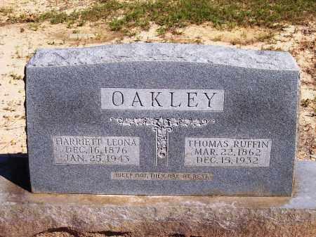 OAKLEY, HARRIETT LEONA - Dallas County, Arkansas   HARRIETT LEONA OAKLEY - Arkansas Gravestone Photos