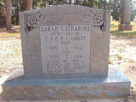 OAKLEY, SARAH CATHARINE - Dallas County, Arkansas | SARAH CATHARINE OAKLEY - Arkansas Gravestone Photos