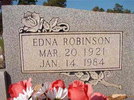 ROBINSON OLDS, EDNA - Dallas County, Arkansas | EDNA ROBINSON OLDS - Arkansas Gravestone Photos