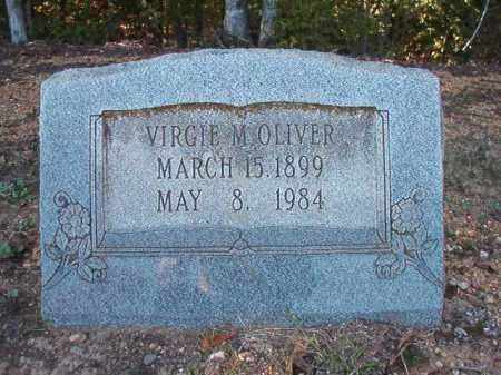 OLIVER, VIRGIE M - Dallas County, Arkansas | VIRGIE M OLIVER - Arkansas Gravestone Photos