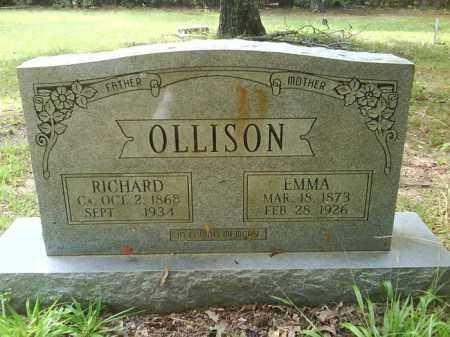 OLLISON, RICHARD - Dallas County, Arkansas | RICHARD OLLISON - Arkansas Gravestone Photos