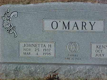 O'MARY, JOHNETTA H. - Dallas County, Arkansas | JOHNETTA H. O'MARY - Arkansas Gravestone Photos