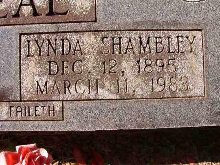 SHAMBLEY O'NEAL, LYNDA - Dallas County, Arkansas | LYNDA SHAMBLEY O'NEAL - Arkansas Gravestone Photos