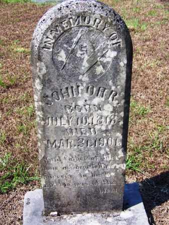 ORR, JOHN - Dallas County, Arkansas | JOHN ORR - Arkansas Gravestone Photos