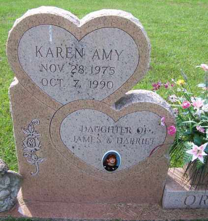 ORR, KAREN AMY - Dallas County, Arkansas | KAREN AMY ORR - Arkansas Gravestone Photos