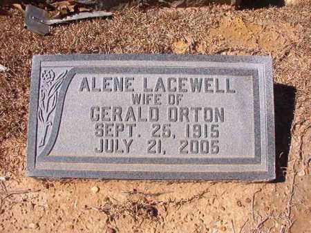 LACEWELL ORTON, ALENE - Dallas County, Arkansas | ALENE LACEWELL ORTON - Arkansas Gravestone Photos