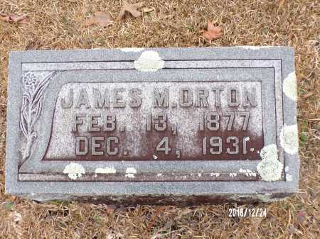 ORTON, JAMES M - Dallas County, Arkansas   JAMES M ORTON - Arkansas Gravestone Photos