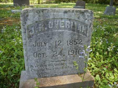 OVERMAN, J R - Dallas County, Arkansas | J R OVERMAN - Arkansas Gravestone Photos