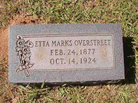 OVERSTREET, ETTA - Dallas County, Arkansas | ETTA OVERSTREET - Arkansas Gravestone Photos