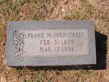 OVERSTREET, FRANK M - Dallas County, Arkansas | FRANK M OVERSTREET - Arkansas Gravestone Photos