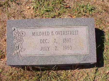 OVERSTREET, MILDRED B - Dallas County, Arkansas | MILDRED B OVERSTREET - Arkansas Gravestone Photos
