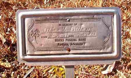 OWENS, OZIE V - Dallas County, Arkansas | OZIE V OWENS - Arkansas Gravestone Photos