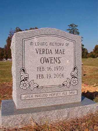 OWENS, VERDA MAE - Dallas County, Arkansas | VERDA MAE OWENS - Arkansas Gravestone Photos