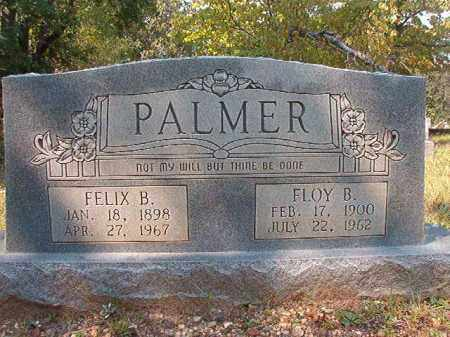 PALMER, FELIX B - Dallas County, Arkansas | FELIX B PALMER - Arkansas Gravestone Photos