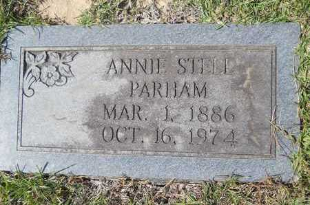 STELL PARHAM, ANNIE - Dallas County, Arkansas | ANNIE STELL PARHAM - Arkansas Gravestone Photos