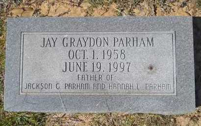 PARHAM, JAY GRAYDON - Dallas County, Arkansas | JAY GRAYDON PARHAM - Arkansas Gravestone Photos