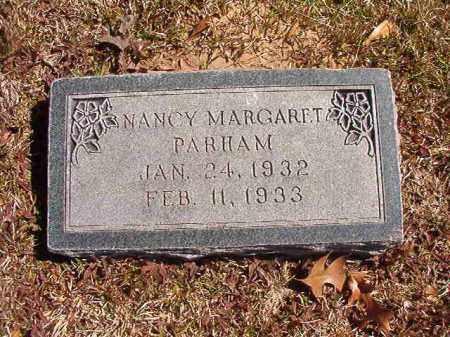 PARHAM, NANCY MARGARET - Dallas County, Arkansas   NANCY MARGARET PARHAM - Arkansas Gravestone Photos