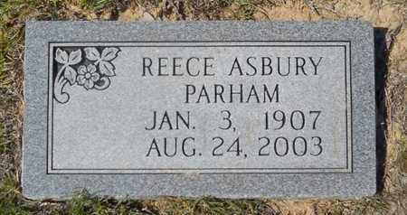 PARHAM, REECE ASBURY - Dallas County, Arkansas   REECE ASBURY PARHAM - Arkansas Gravestone Photos