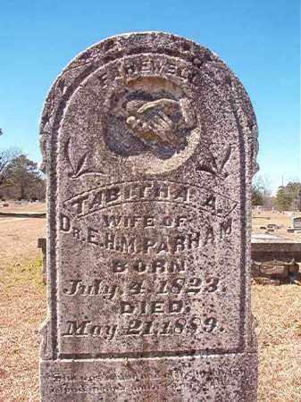 PARHAM, TABITHA A - Dallas County, Arkansas   TABITHA A PARHAM - Arkansas Gravestone Photos