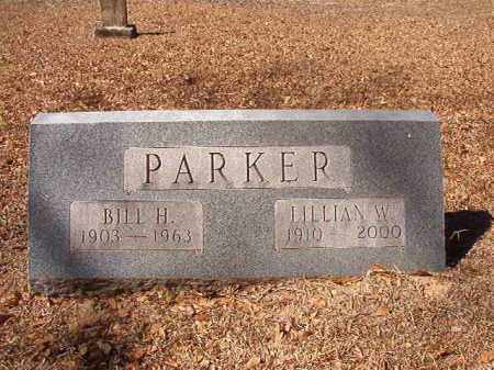 PARKER, LILLIAN W - Dallas County, Arkansas | LILLIAN W PARKER - Arkansas Gravestone Photos