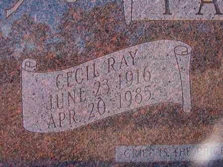 PARKER, CECIL RAY - Dallas County, Arkansas | CECIL RAY PARKER - Arkansas Gravestone Photos