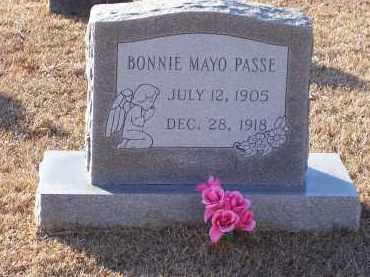 PASSE, BONNIE MAYO - Dallas County, Arkansas | BONNIE MAYO PASSE - Arkansas Gravestone Photos