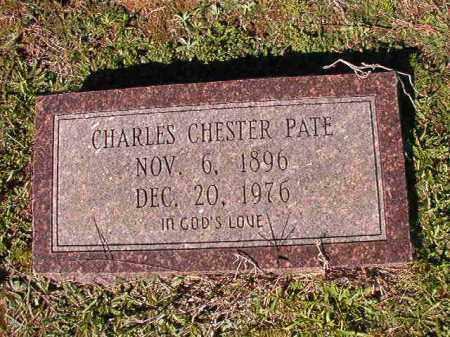 PATE, CHARLES CHESTER - Dallas County, Arkansas | CHARLES CHESTER PATE - Arkansas Gravestone Photos