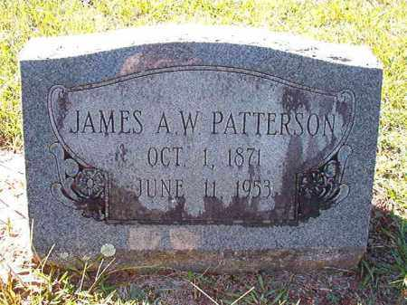 PATTERSON, JAMES A W - Dallas County, Arkansas   JAMES A W PATTERSON - Arkansas Gravestone Photos