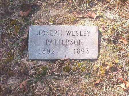 PATTERSON, JOSEPH WESLEY - Dallas County, Arkansas   JOSEPH WESLEY PATTERSON - Arkansas Gravestone Photos
