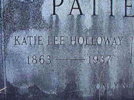 HOLLOWAY PATTERSON, KATIE LEE - Dallas County, Arkansas | KATIE LEE HOLLOWAY PATTERSON - Arkansas Gravestone Photos
