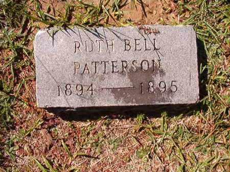 PATTERSON, RUTH BELL - Dallas County, Arkansas | RUTH BELL PATTERSON - Arkansas Gravestone Photos